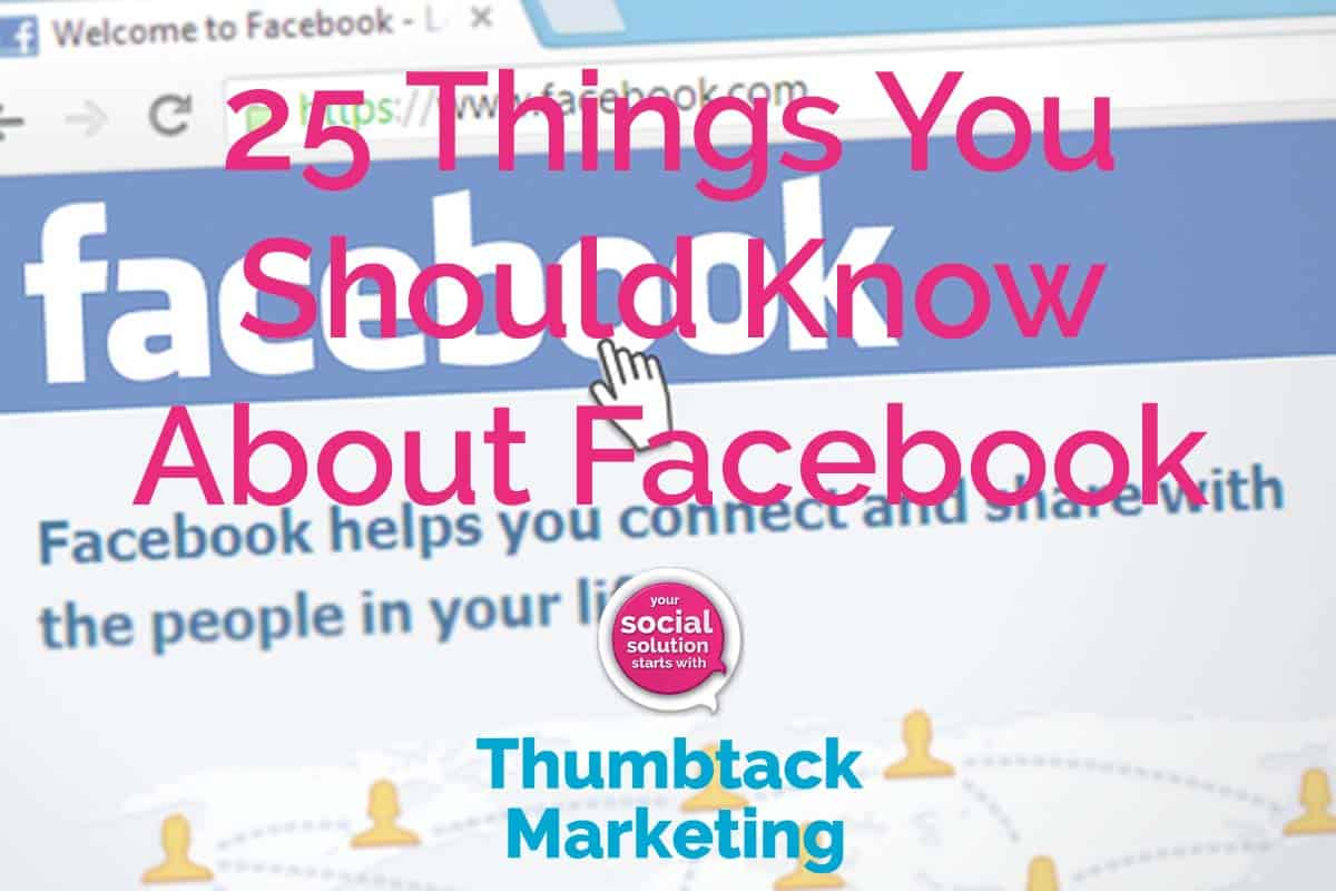 25 Things You Should Know About Facebook