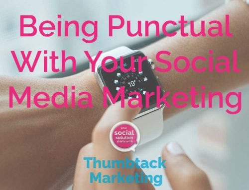 Being Punctual With Your Social Media Marketing